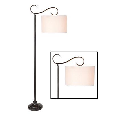 Downbridge Metal Scroll Floor Lamp